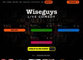 wiseguyscomedy.com