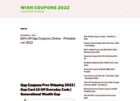 wishcoupons.com