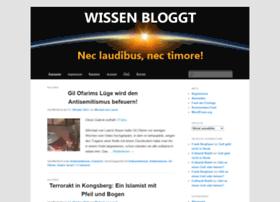 wissenbloggt.de