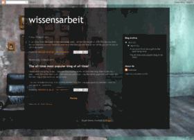 wissensarbeit.blogspot.com