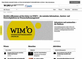 wissenschaftsmanagement-online.de