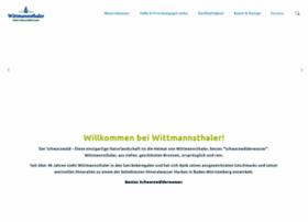 wittmannsthaler.de