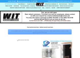 witwindowsanddoors.com