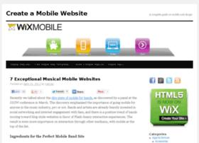 wixmobile.com
