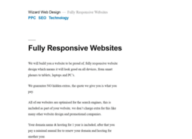 wizard-web-design.com