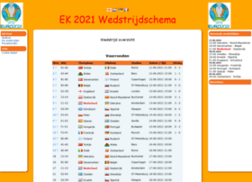 wkwedstrijdschema.nl