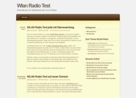 wlanradiotest.wordpress.com