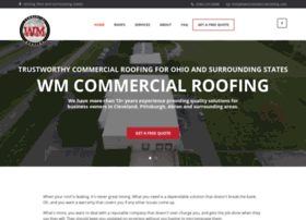 wmcommercialroofing.com