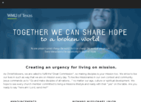 wmu.texasbaptists.org
