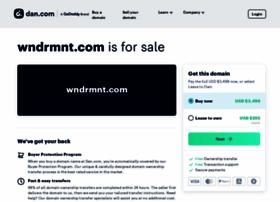 wndrmnt.com