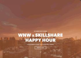 wnwxskillshare.splashthat.com