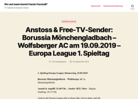 wo-und-wann-laeuft-heute-fussball.stuntkatze.de