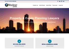 wocknerlawyers.com.au