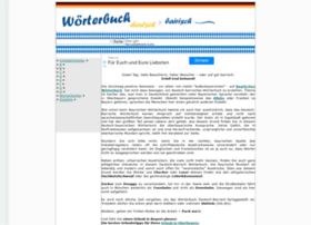 woerterbuch-deutsch-bayerisch.de
