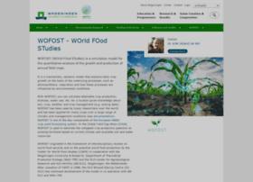 wofost.wur.nl
