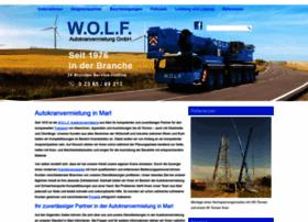 wolf-autokrane-marl.de