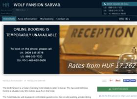 wolf-pansion-hotel-sarvar.h-rez.com