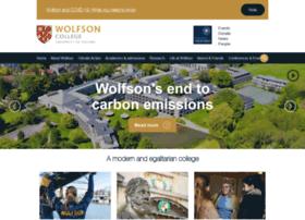 wolfson.ox.ac.uk