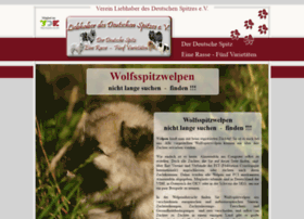 wolfsspitzwelpen.spitzliebhaberverein.de