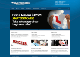 Wolverhamptondrivingschool.co.uk