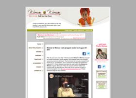 womantowomanradio.com