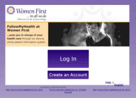 womenfirstlouisville.followmyhealth.com