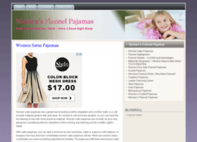 womenflannelpajamas.com