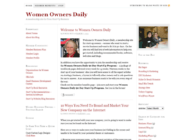 womenownersdaily.com