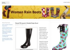 womenrainboots.net