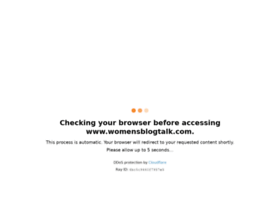 womensblogtalk.com
