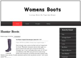 womensbootslist.com