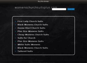 womenschurchsuitsplus.com