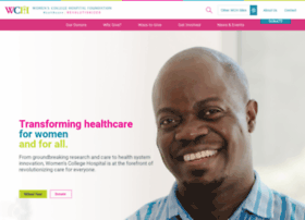 womenscollegehospitalfoundation.com