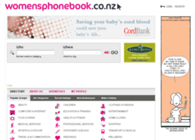 womensphonebook.co.nz