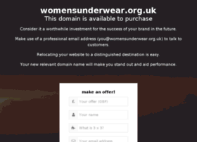 womensunderwear.org.uk
