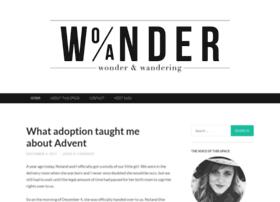 wonderandwandering.com