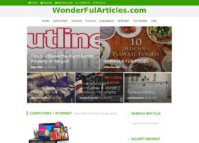 wonderfularticles.com