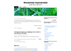 wonderfullyunpredictable.wordpress.com