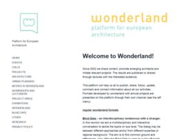 wonderland.cx
