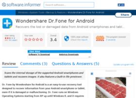 wondershare-dr-fone-for-android.software.informer.com