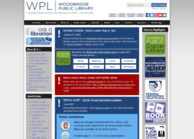 woodbridgelibrary.org