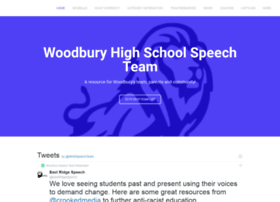 woodburyspeech.com