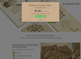 woodbusinesscard.com