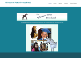 woodenponypreschool.com