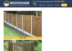 woodhamfencing.uk