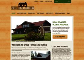 woodhouseloghomes.com