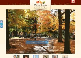 woodlandcemetery.funeraltechweb.com