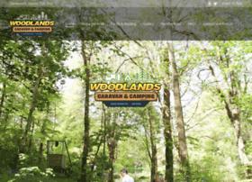 woodlands-caravanpark.com