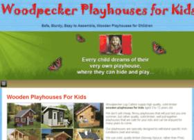 woodpeckerplayhouses.com