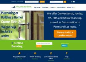 woodsborobank.com